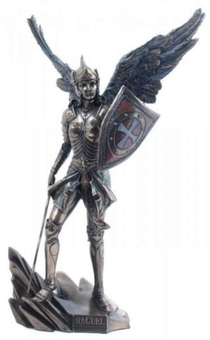 Photo of Archangel Raguel Bronze Figurine