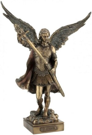 Photo of Archangel Saint Michael - Peace And Justice Bronze Figurine
