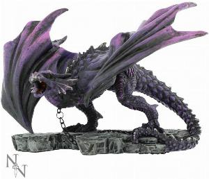 Photo of Azar the Aggressor Dragon Figurine 22cm