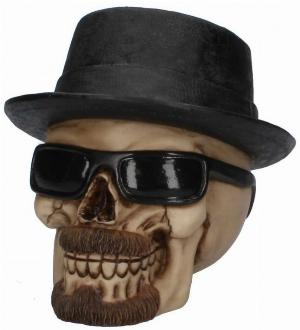 Photo of Badass Skull Ornament 16cm