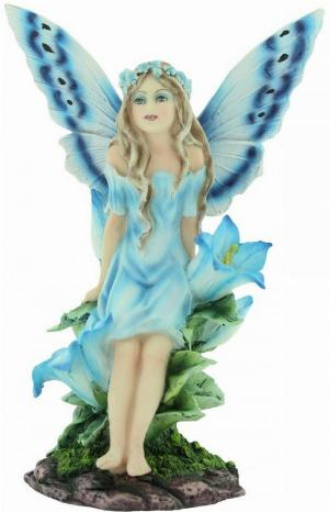 Photo of Bluebell Fairy Figurine 16cm