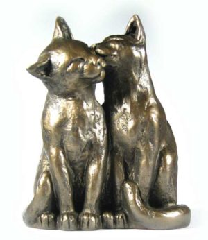 Photo of Cat Friends Forever Sculpture