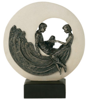 Photo of Circle of Love Bronze Figurine