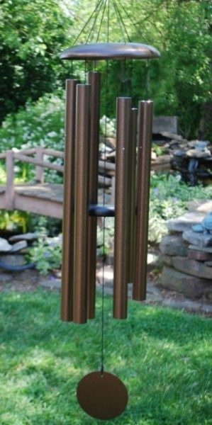 Photo of Corinthian Wind Chime 50 inches (Copper Vein)