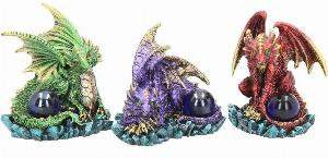 Photo of Dragon Guards (Set of 3) Dragon Ornaments 9 cm