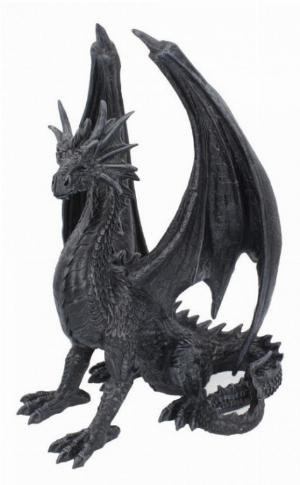 Photo of Dread Wing Large Black Dragon Figurine