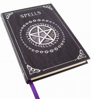 Photo of Embossed Spell Book Purple