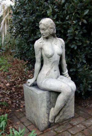 Photo of Eve Stone Statue