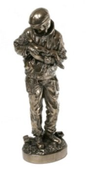 Photo of Firefighter Bronze Ornament