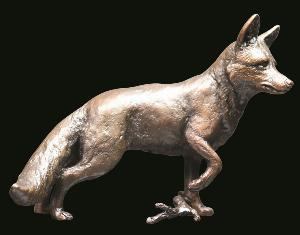 Photo of Fox Standing Bronze Figurine (Limited Edition)