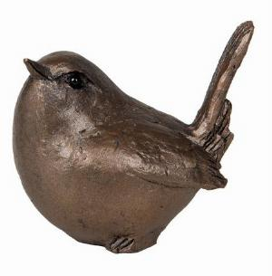 Photo of Garden Bird Bronze Figurine small (Thomas Meadows) Frith Minima