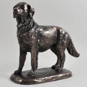 Photo of Golden Retriever Bronze Dog Sculpture (Harriet Glen)