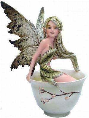 Photo of Green Tea Fairy Figurine 15cm Amy Brown