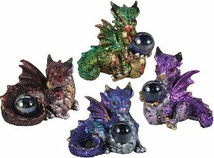 Photo of Hatchling Treasure Dragon Figurines (Set of 4)