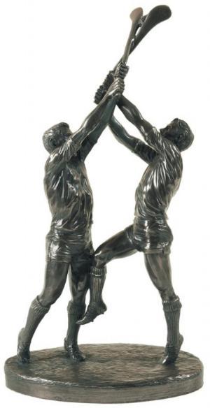 Photo of Hurling Bronze Figurine Clash of the Ash