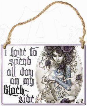 Photo of I Love To Spend All Day On My Blackside Small Steel Plaque