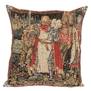 Phot of King Arthur Tapestry Cushion