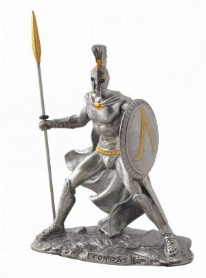 Photo of Leonidas Pewter Figurine