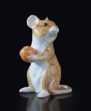 Photo of Mouse Hand Painted Fine Bone China Miniature Figurine