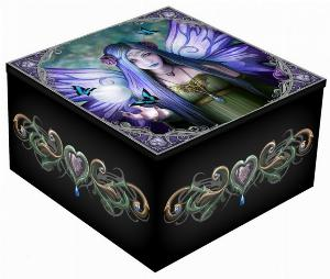 Photo of Mystic Aura Mirror Box (Anne Stokes) 5.5cm