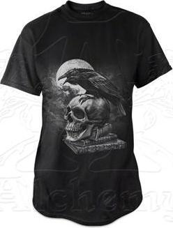 Photo of Poes Raven T Shirt Alchemy Gothic