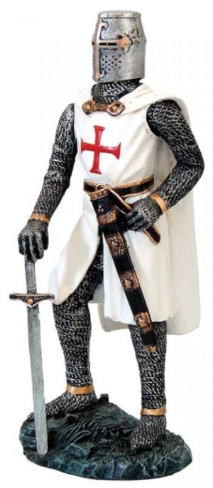 Photo of Proud Knight Templar Figurine