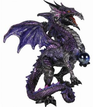 Photo of Purple Dragon Protector Figurine (Alator)