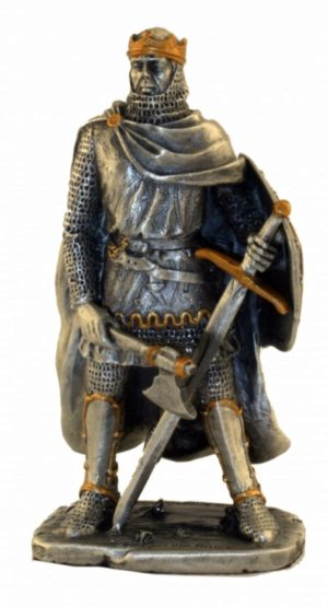 Photo of Robert the Bruce Pewter Figurine