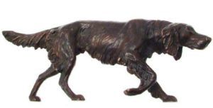Photo of Setter Bronze Ornament