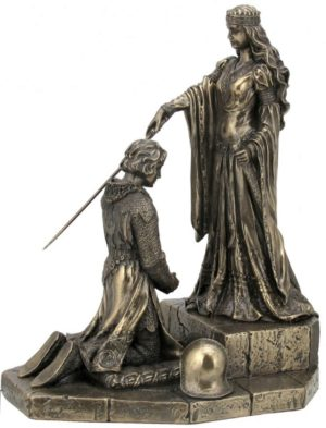 Photo of The Accolade Bronze Figurine