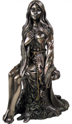 Photo of The Maiden Bronze Figurine Luna Lakota