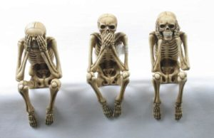 Photo of Three Wise Skeletons