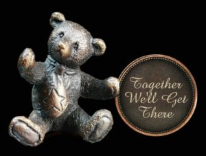 Photo of Together Well Get There Penny Bear Michael Simpson