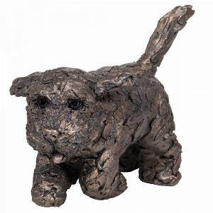 Photo of Winnie the Cockapoo Running Bronze Sculpture (Frith) 17 cm