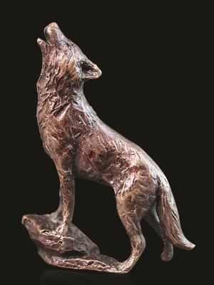 Photo of Wolf Bronze Miniature (Butler and Peach)