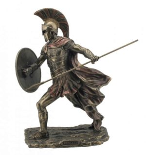 Photo of Achilles Bronze Figurine 30 cm
