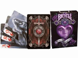 Photo of Anne Stokes Dark Hearts Playing Cards Deck