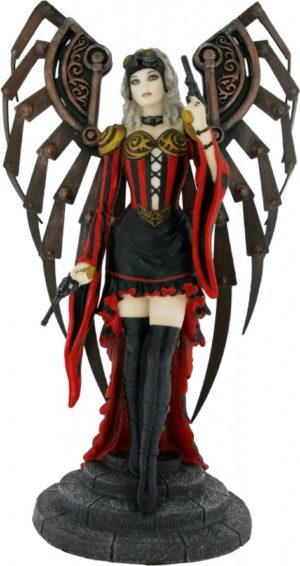Photo of Avenger Steampunk Angel Figurine (Anne Stokes)