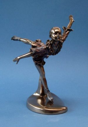Photo of Camel Spin Ice Skating Figurine