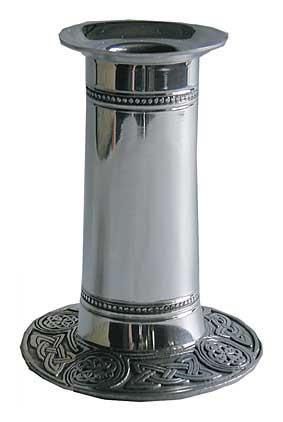 Photo of Celtic Pewter Candlestick Holder (Large)