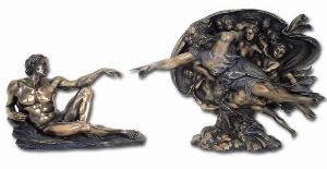 Photo of Creation of Adam Figurine Michelangelo