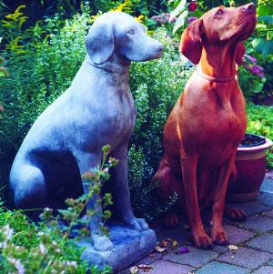 Photo of Dog Stone Garden Sculpture