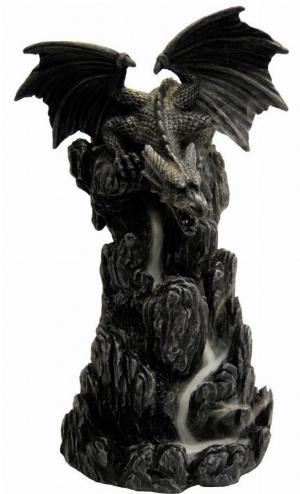 Photo of Dragon Incense Tower 20cm with Backflow Incense Cone