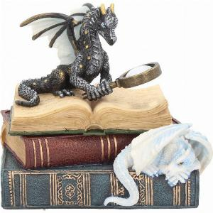 Photo of Dragons of Wisdom Trinket Box Figurine