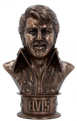 Photo of Elvis Bust Figurine Large 33cm