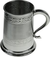 Photo of Embossed Celtic Tankard