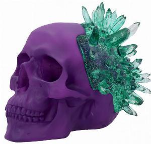 Photo of Emerald Crystal Skull Ornament