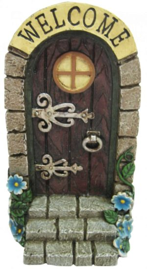Photo of Fairy Welcome Door Plaque 19cm