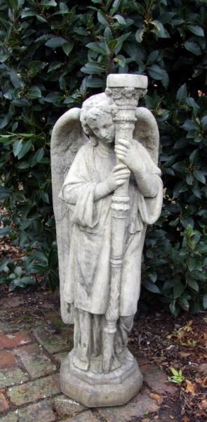 Photo of Fallen Angel Stone Statue