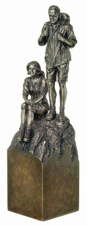 Photo of Freedom Bronze Sculpture 29cm (Retirement Gift)